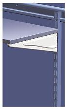 Closetmaid 386200 10-Inch White Shelf Track Bracket