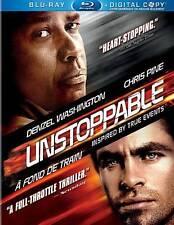 UNSTOPPABLE BLU RAY + DIGITAL COPY Movie -Brand New -FAST SHIP (HMV-075/HMV-011)