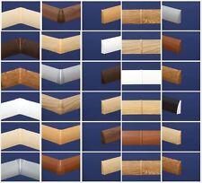 Zubehör für Sockelleisten 60mm Softline Leisten / Ecken, Kappen, Verbinder