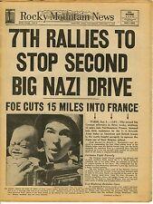 Rocky Mountain News, Denver, Jan 6, 1945