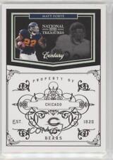 2010 Playoff National Treasures Century Silver #28 Matt Forte Chicago Bears Card