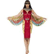 Women's Ladies Egyptian Goddess Costume Halloween Fun Fancy Dress Outfit