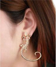 Piercing lóbulo oreja dobladillo pendientes de Gota de Plata cono Spike cartílago cuelgan