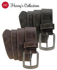 Damen Basic Gürtel echt Leder und Polyurethan senf rot Länge 80 bis 100 cm 3156
