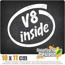 V8 inside csf0338 11 x 10 cm JDM  Sticker Aufkleber