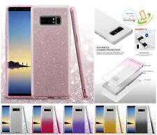 Samsung GALAXY S10 /+ Plus / E Hybrid Glitter Bling Rubber Protective Case Cover
