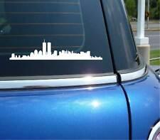 NEW YORK CITY SKYLINE NY GRAPHIC DECAL STICKER ART CAR WALL DECOR