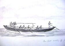 La India Raj Cartoon Humor Casting Off M Beattie C1870