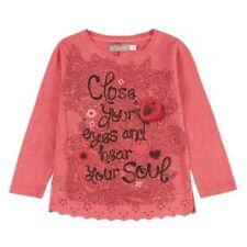 boboli Camiseta Manga Larga Niñas Coral Talla 98-164