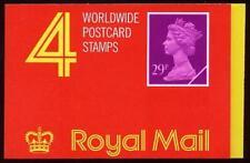 GB QE2 BARCODE BOOK £ 1.16 mondo cartolina GG1 PHOS bande