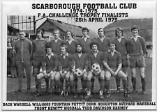 Scarborough di calcio FOTO > 1974-75 Stagione