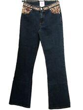 Jeans donna LM LULU Paris Tg. W 26 28 IT 40 42 Denim Stretch Bootcut Original