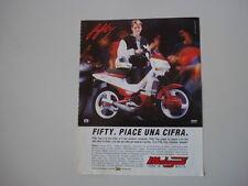 advertising Pubblicità  1992 MALAGUTI FIFTY TOP