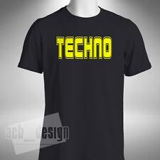 Techno Mens T-Shirt Dj Producer Clubbing Rave Dance Music Lover