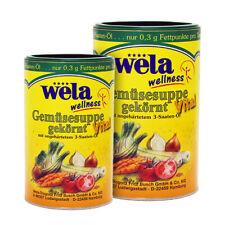 Gemüsesuppe gekörnt Vital, als Gemüsebrühe und Gewürz - wela (0,39€/L)