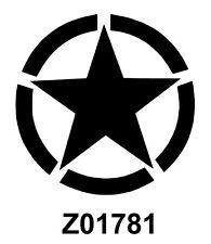 STICKER AUTOCOLLANT ARMY US STAR USA    STICKERS VYNIL TUNING PAREBRISE