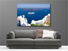 Cuadro pinturas decoración en kit Vistos sobre el mar ref 66523411