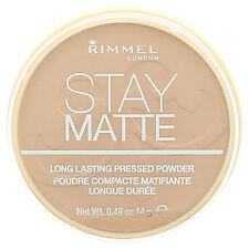 RIMMEL Stay Matte Long lasting Pressed Powder New/Sealed --Choose shade---