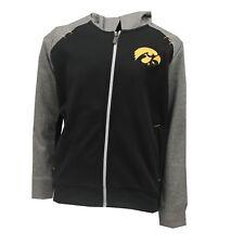 Iowa Hawkeyes Official NCAA Kids Youth Size Full Zip Hooded Sweatshirt New Tags