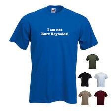 'I am not Burt Reynolds' November Moustache Beard Funny T-shirt Tee