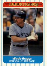 1986 Fleer League Leaders Baseball Cards - You Pick - Buy 10+ cards FREE SHIP