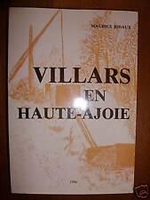 1986 Maurice BIDAUX  Villars en Haute Ajoie + Envoi