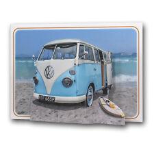Pictoria Press 3D Pop Up Greeting Card VW Campervan Camper Van Birthday Dad Vdub