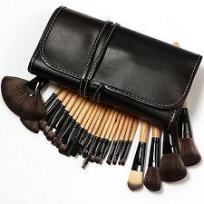 Di Alta Qualità 24 PCS Pro Makeup Cosmetic POWER Blending Brush Set Custodia Borsa