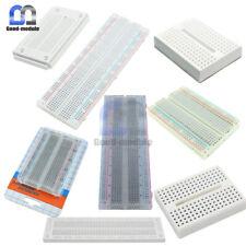 Durable Mini 170 270 400 700 830 Tie Points Solderless Breadboard PCB Board