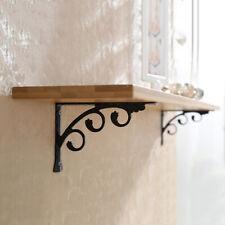 2pcs Wall Mounted L Shaped Angle Bracket Multifuntional Brace Shelf Brackets
