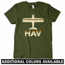 Fly Havana HAV Airport Women's T-shirt - Cuba Castro Cubana Air Plane - S to 2XL