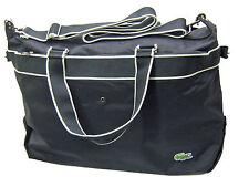 Lacoste Weekender Duffle Bag Bolsa de Nueva Ciudad Casual 14 Negro