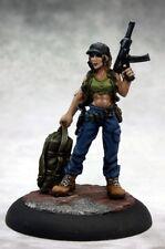 Evie Heroine Reaper Miniatures Chronoscope ATZ Zombie Survivor Zombicide Modern