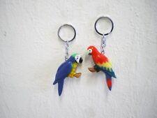 "Schlüsselanhänger ""Papagei"" (Holz) / Keychain ""Parrot"" (Wood)"