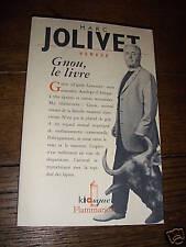 gnou le livre par marc jolivet