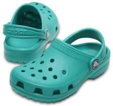 Crocs Classic Clog Kids Türkis Tropical Teal Schuhe Clogs Jungen Mädchen Kinder