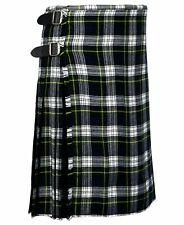Para hombres 8-metros tradicional kilt escocés hecho de 100/% lana acrílico 16oz Macdonald