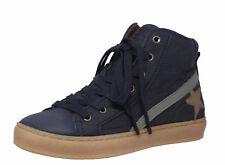 Bisgaard H/W 2018 Hohe Sneaker 31909 Leder Halbschuhe blau Gr. 32 - 39 Neu