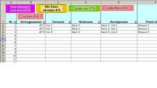 Excel-Tuning Adressverwaltung / Kundenverwaltung (Excel)