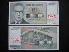 YUGOSLAVIA  10000000 Dinara 1994  (P144a)  UNC