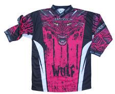 Kids Motorcycle MX Motocross Children Wulf Wulfsport 2019 AZTEC Shirt Pink T