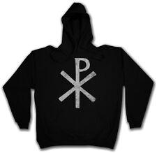 CHI RHO SYMBOL HOODIE ? XP Ichtys Jesus Christus Christ Pax Christi Zeichen Logo