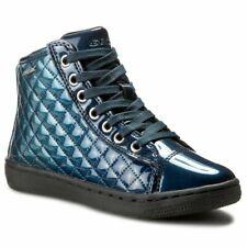 Geox creamy j64l5d 000gx scarpe caviglia trapuntate lack bambina shoes