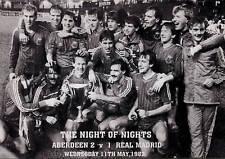 ABERDEEN FOOTBALL TEAM PHOTO>1982-83 SEASON