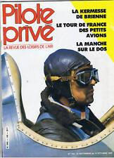 PILOTE PRIVE N°140   aviation avion vol parachutisme
