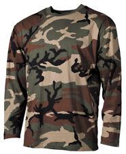 EEUU Tarn camisa manga larga manga larga camiseta Camisa Camuflaje Bosque