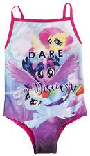 My Little Pony Swimming Costume Girls Fluttershy Rainbow Dash MLP Swimwear Size