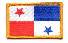 Parche bandera PATCH PANAMA 7x4,5cm bordado termoadhesivo nuevo
