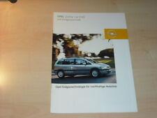 21751) Opel Zafira 1.6 CNG Prospekt 2003