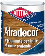 BOERO ATTIVA impregnante per legno esterno protettivo solvente non sfoglia 5 lt